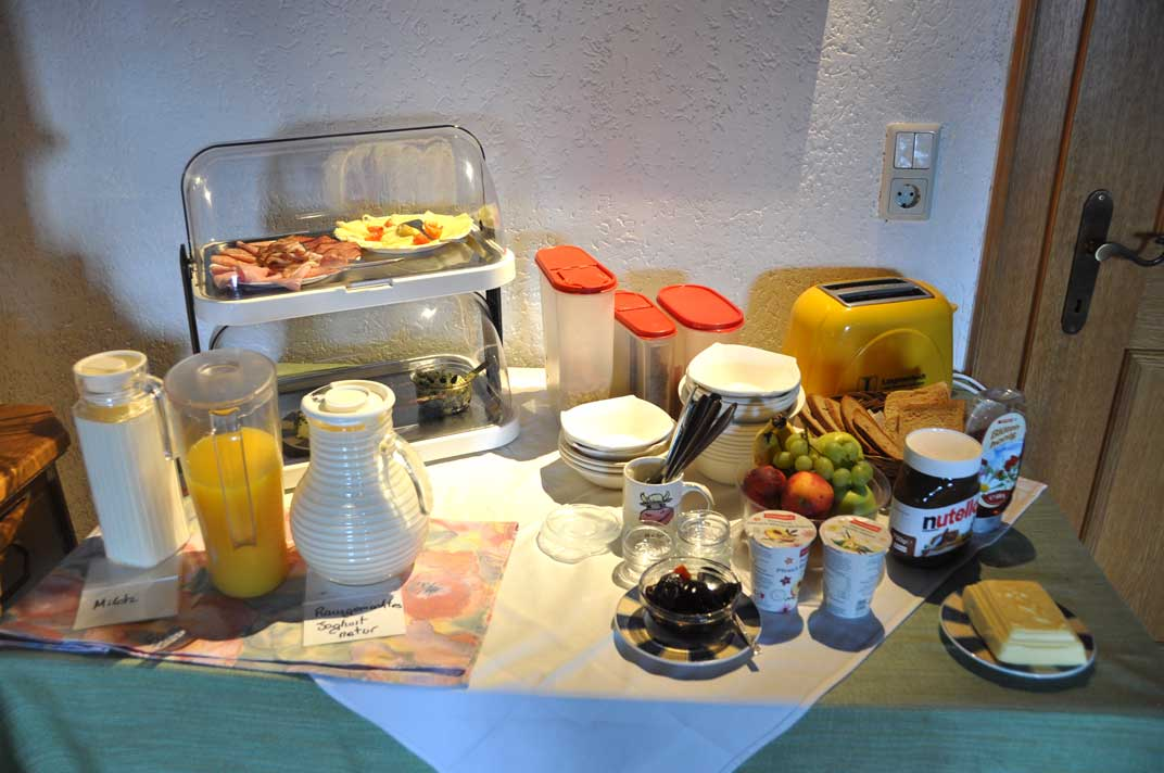 Unser Frühstück